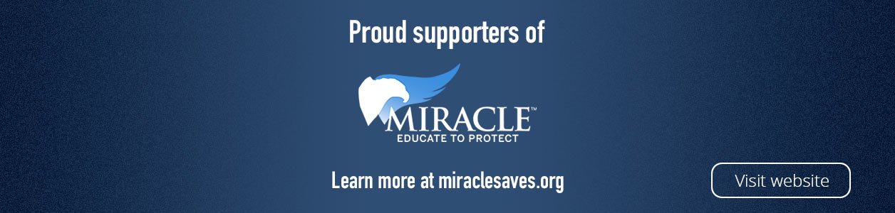 Point Blank proudly supports MIRACLE.